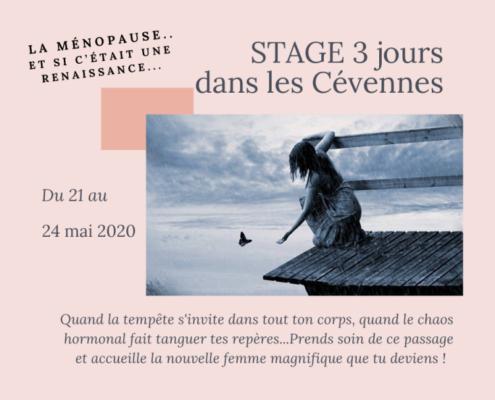 stage Cévennes Ménopause Ateliers